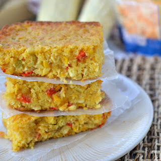 Cheesy Mexican Cornbread.