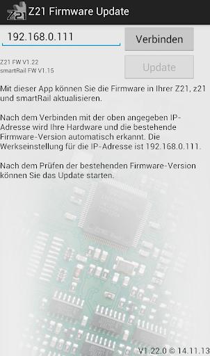 Z21 Updater