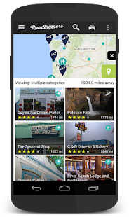 Roadtrippers - Trip Planner - screenshot thumbnail