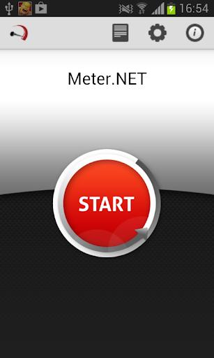 Internet speed test Meter.Net