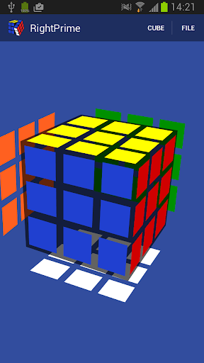 RightPrime Cube Solver