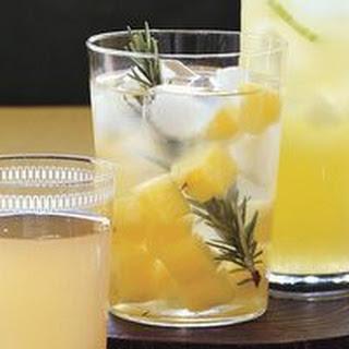 Breathe Easy Pineapple-Rosemary Water
