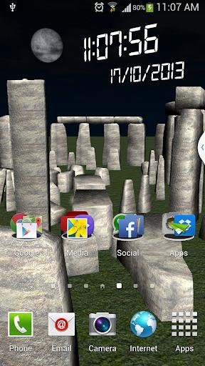 Stonehenge livewallpaper 3d hd