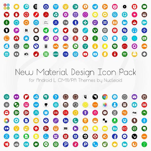 Lollipop 5.0 CM11 PA Theme