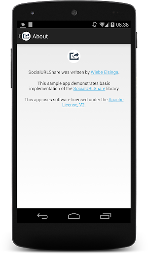 玩程式庫與試用程式App|SocialURLShare Demo app免費|APP試玩