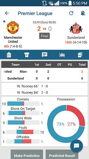 ScoreCenter Live : All sports 6.0.9 screenshots 2