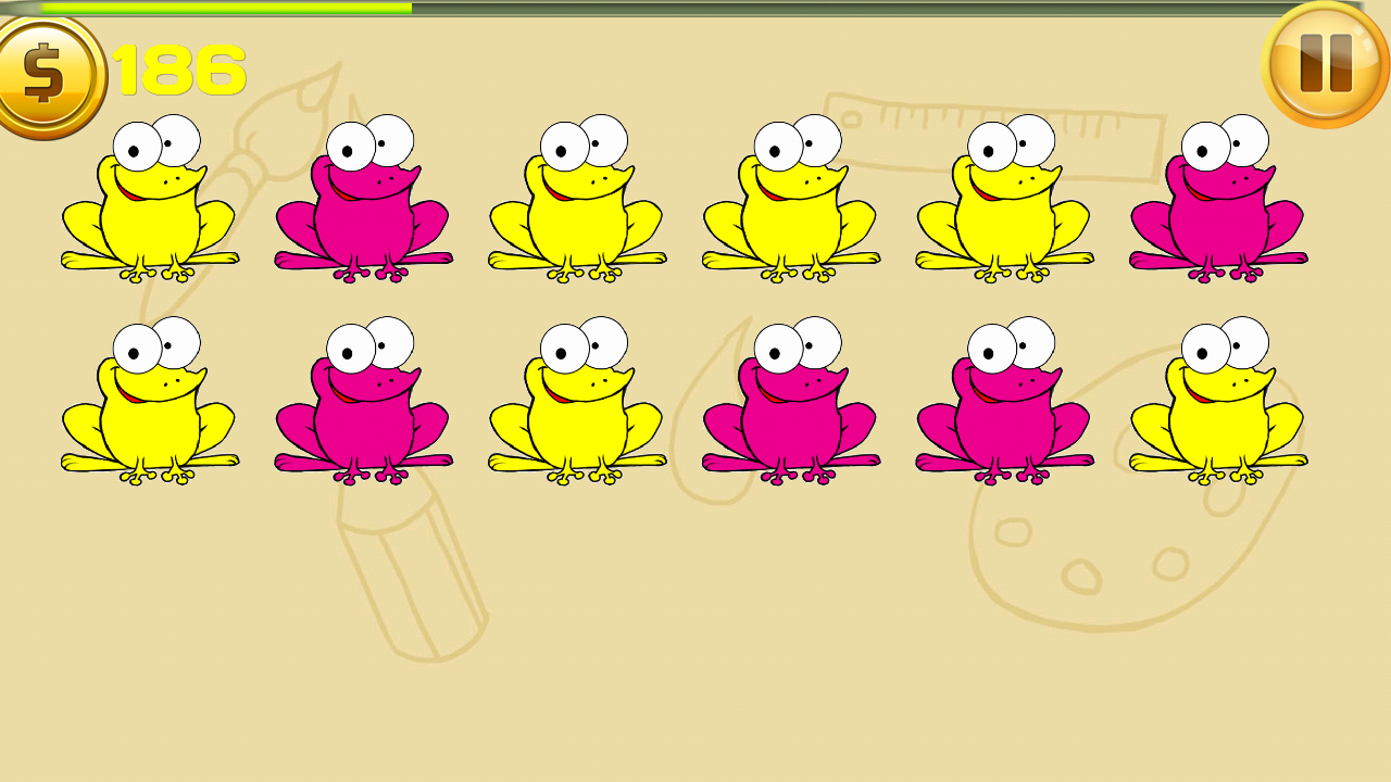 Color The Frog - screenshot