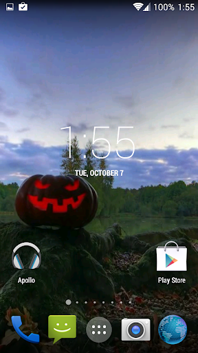 Halloween. Video Wallpaper