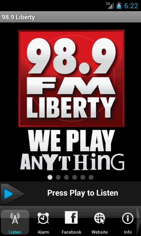 98.9 Liberty-We Play Anything - screenshot