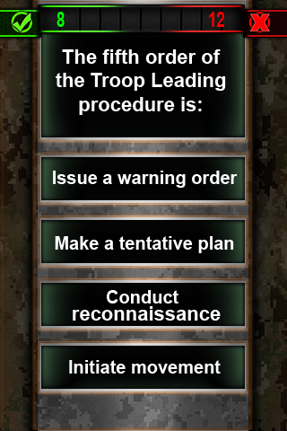 Army Study Quiz