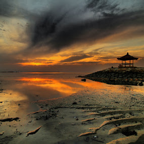 sunrise by I Made  Sukarnawan - Landscapes Cloud Formations ( bali, sunset, sunrise, landscape )