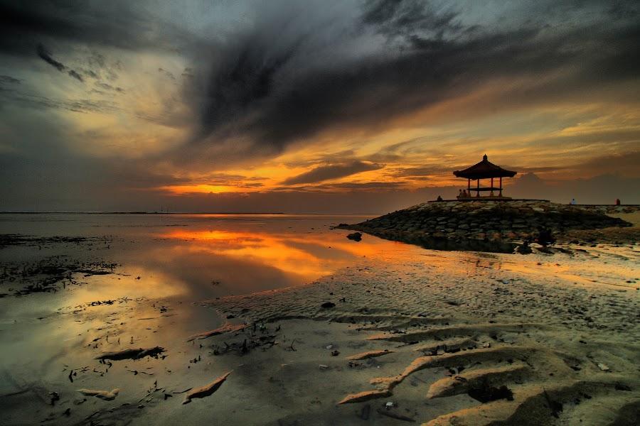 sunrise by I Made  Sukarnawan - Landscapes Cloud Formations ( bali, sunset, sunrise, landscape )
