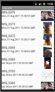 Chocolat for mobileme - screenshot thumbnail