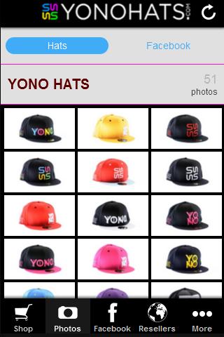 YONO Hats