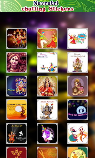Navratri Chating Stickers