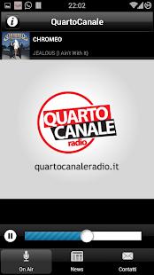 Quarto Canale Radio- screenshot thumbnail