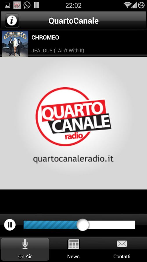 Quarto Canale Radio - screenshot