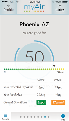 myAir Health - screenshot