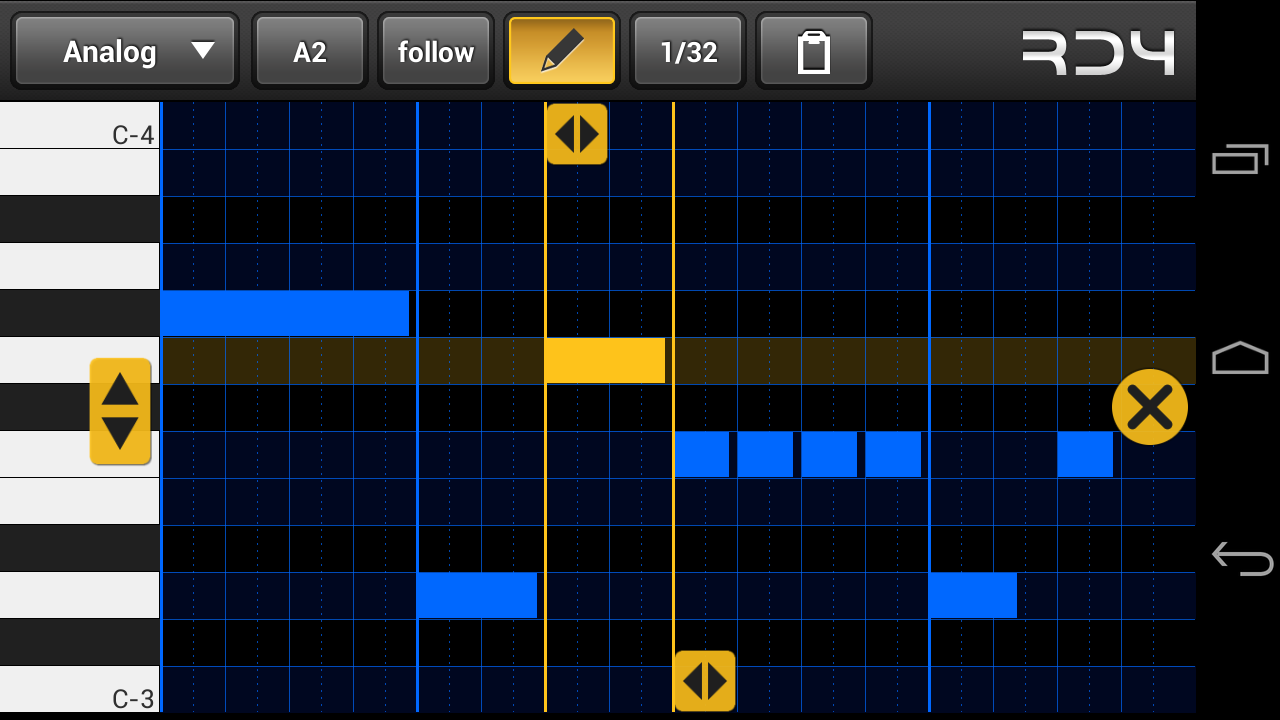 RD4 Groovebox Demo- screenshot