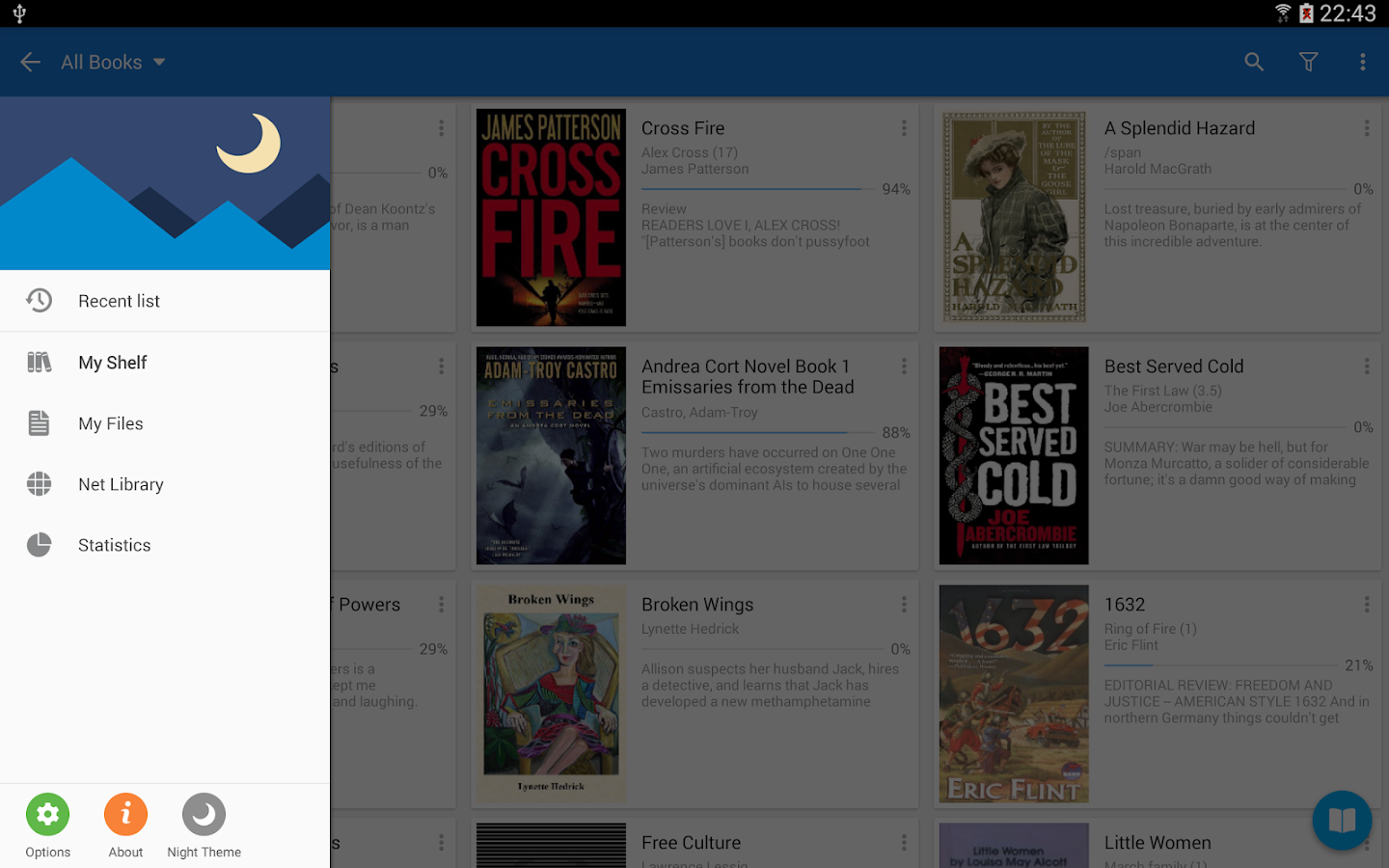 Moon+ Reader Pro - screenshot