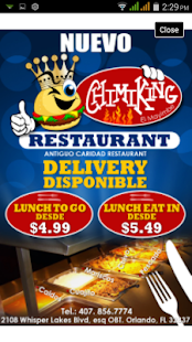 Chimiking - Latin Restaurant- screenshot thumbnail