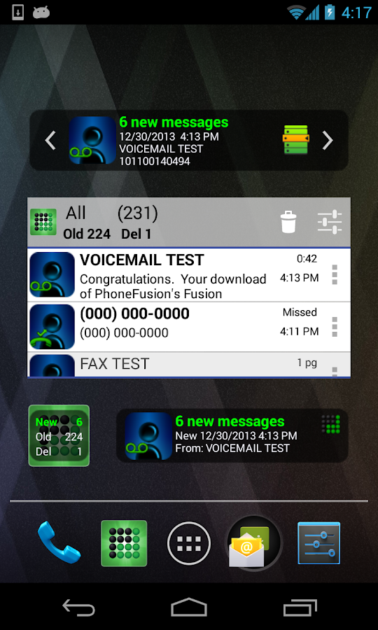 Visual Voicemail Plus- screenshot
