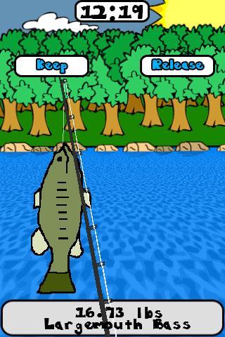 Doodle Fishing Lite- screenshot