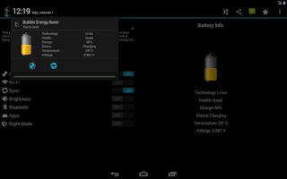Screenshot of Bubble Energy Saver