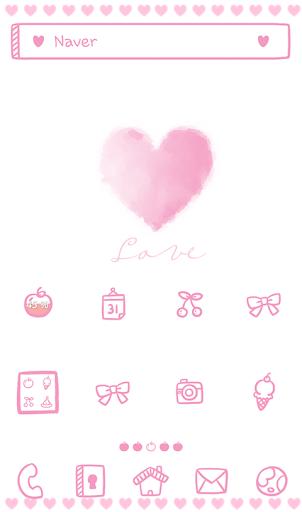 pink love 도돌런처 테마
