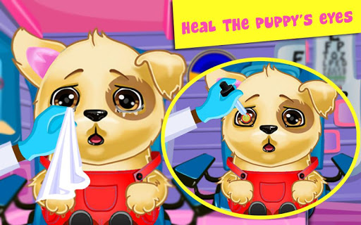 Doctor Game: Puppy Eye Care