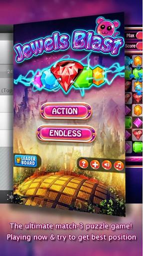 Jewels Blast Saga HD - Crusher
