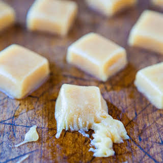 Seven Minute Microwave Caramels (gluten-free).