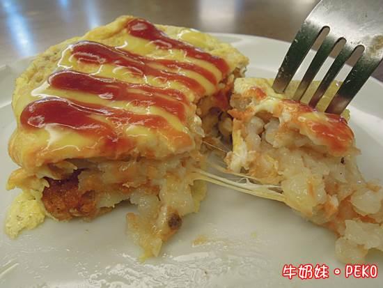 向陽晨間飲食館(早餐、早午餐)~會牽絲的薯餅塔