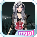 Dark Goth Bride Dress Up icon