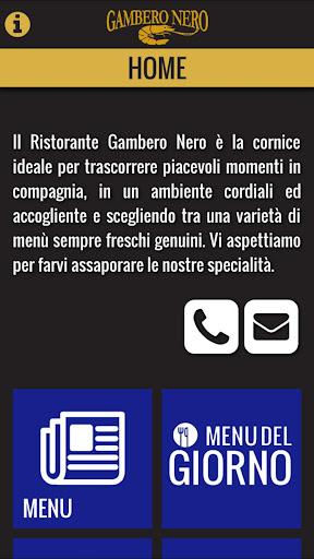 GAMBERO NERO