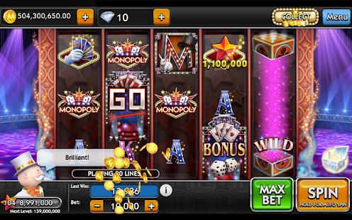 MONOPOLY Slots- screenshot thumbnail