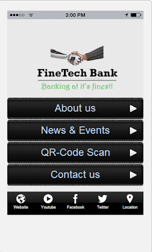 FineTech Bank App