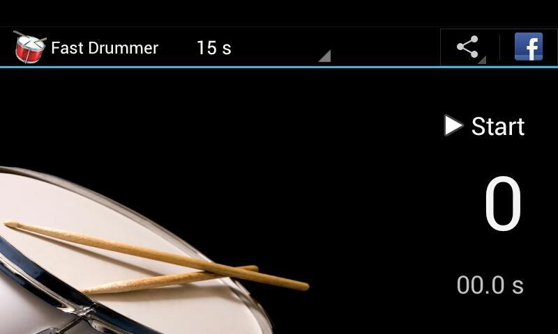Fast Drummer - screenshot