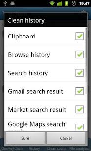 eClean - screenshot thumbnail