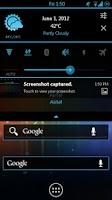 Screenshot of Minimal Blue CM11 AOKP Theme