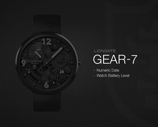 Gear-7 watchface by Liongate