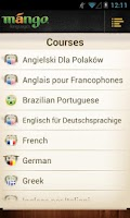 Screenshot of Mango Languages Consumer