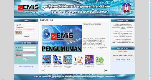 Aplikasi EMIS