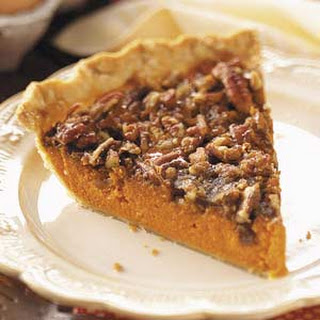Pecan-Topped Carrot Pie.