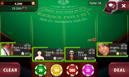 BlackJack 21 Pro Live - screenshot thumbnail