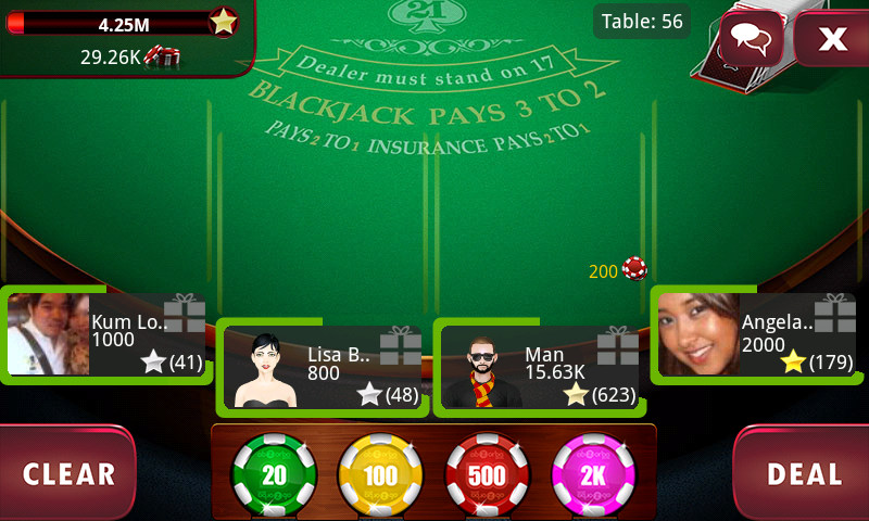 BlackJack 21 Pro Live - screenshot