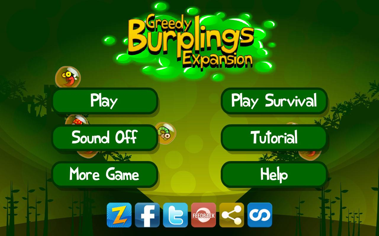 Greedy Burplings Expansion - screenshot