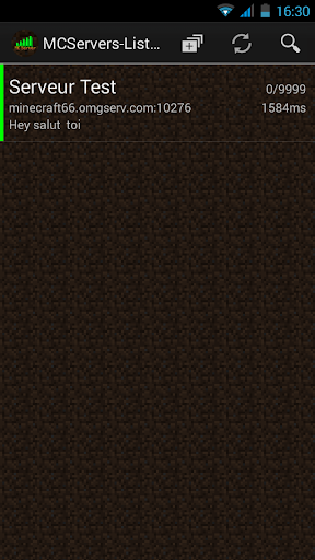 MC Servers Lister