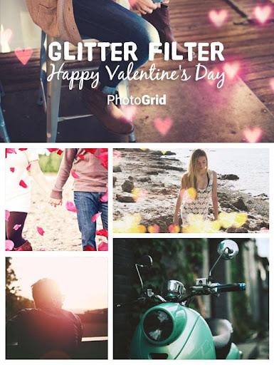 Glitter Filter - Photo Grid