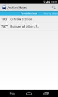 Screenshot of Auckland Buses